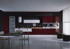 DALI Kitchen Collection - ARAN Cucine (Italy) - modern - kitchen cabinets - san francisco - European Cabinets & Design Studios