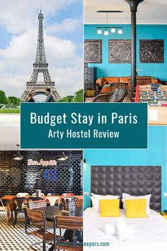 Budget Stay in Paris: The Arty Hostel Review #travel #accommodation #hostel #review #Paris #france