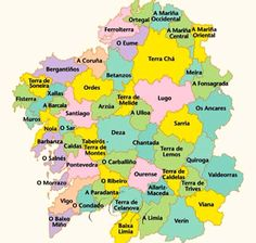 Galicia Places Around The World, Around The Worlds, Celtic Nations, The Camino, Oriental, History, Life, Ac Milan, Maps