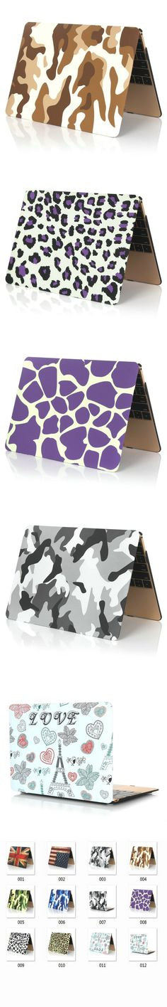 laptop 3 In1 Protective Sea sky Case For Macbook air 11 pro 13 retina 12 15 sleeve notbook Hard Case For Mac book without logo