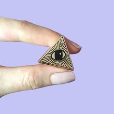 Kawaii Cute Illumewnati - Gold Cat Eye Illuminati Meow All Seeing Eye Hard Enamel Pin by lazy LUCA Bag Pins, All Seeing Eye, Hard Enamel Pin, Kawaii Cute, Other Accessories, Antique Gold, Cat Eye, Im Not Perfect, Trending Outfits