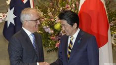 Australian Prime Minister Malcolm Turnbull said Thursday he welcomed the recent dialogue between North and South Korea but marching together at the Winter Olympics won't denuclearize the Korean Peninsula.  Turnbull, visiting Japan to talk with Prime Minister Shinzo Abe about regional security, trade and other issues, cautioned against optimism.  #Asia