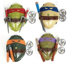 Warenhuizen - Ali Express 2017 NEW Turtles Armor Toy Weapons Turtles Shell Children Birthday Gifts Lovely Party Masks Cosplay Mask Gifts for children EUR Meer informatie