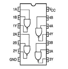 74LS14 Pin Diagram   Pin Diagrams   Pinterest   Schmitt trigger ...
