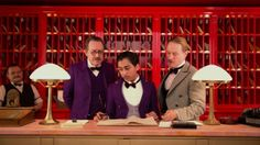 The Grand Budapest Hotel: another great Wes Anderson !