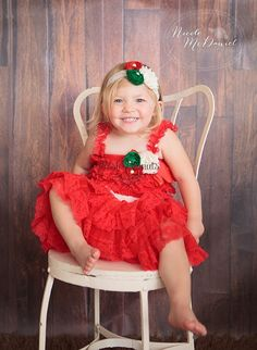 Girls Christmas Dress - baby lace dress - Baby Christmas - Christmas Clothes -  Christmas Outfit - Infant Christmas - Toddler - Santa Outfit on Etsy, $55.00
