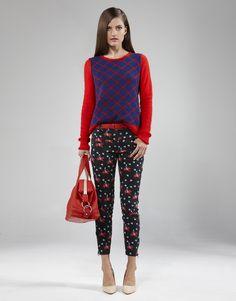 Reversible Knit Top Harem Pants, Knitting, Tops, Fashion, Moda, Harem Jeans, Tricot, Fashion Styles, Cast On Knitting