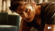 "Isaac Lahey/Daniel Sharman. Look into his eyes. Aren't they hypnotizing?| 41 GIFs Of The ""Teen Wolf"" Men To Make You Drool"