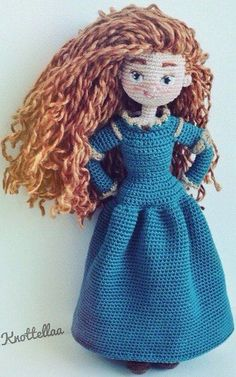 Merida doll Amigurumis