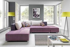 Couchgarnitur Couch SPLIT Polstergarnitur Sofa Polsterecke mit Schlaffunktion  | eBay