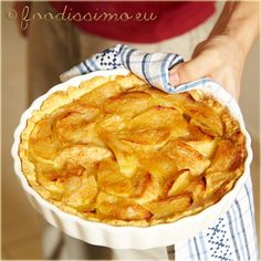 Domáci jablkový koláč A Food, Food And Drink, Healthy Cookies, Apple Pie, Sweet Recipes, Sweets, Baking, Cake, Basket