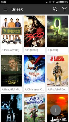 GrieeX - Movies & TV Shows Pro v1.2.3  GrieeX - Movies & TV Shows Pro v1.2.3Requirements:4.0 and upOverview:Important notice: This application is not for downloading and watching movies/TV shows.  Important notice: This application is not for downloading and watching movies/TV shows.  GrieeX is an application that you can manage and access to your movies/TV shows which are been kept in your archives quickly. Only input the movie or TV show name into the application and let GrieeX handle the…