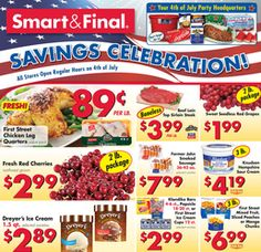 Smart and final coupons