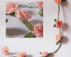 Guirnalda papel boda guirnalda papel flores guirnalda partido garland boda Decoración guirnalda personalizada guirnalda nupcial guirnalda floral banner de boda