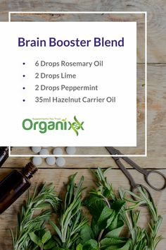 Did you know that essential oils can give you a brain boost? They can wake you up and make you more alert! For more tips on how to use essential oils please follow the link through!