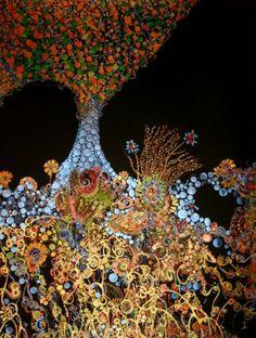 "Saatchi Online Artist Callie Danae Hirsch; Painting, ""Enchanted Indeed"""