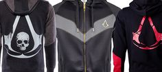 I've been browsing the internet for some new Assassin's Creed hoodies and found quite a few that I liked, so here are 6 killer official hoodies.