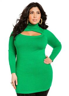 083c5dbc54f Buy - Ashley Stewart Women s Plus Size Studded Keyhole Sweater Perfect Lawn