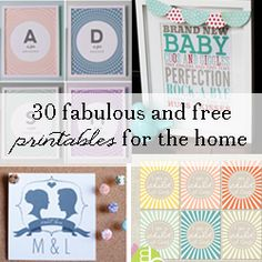 Happy Tuesday! If you're anything like me, you love a good free printable. They're inexpensive, easy to use, and allow your home decor to be changed on a whim. I've collected my 3…
