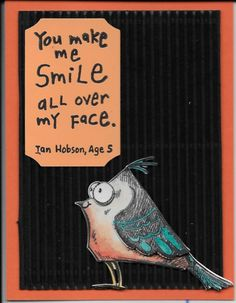 You make me smile by marilynmac - Cards and Paper Crafts at Splitcoaststampers