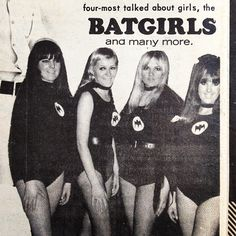 Batgirls at the Swinger Saturday dance in Coburg. Go Set September 27, 1967 #gogo #dance #melbourne #vintage #retro #1960s #60s #sixties #australian_vintage_fashion