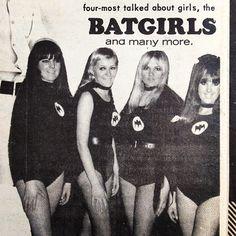 Batgirls at the Swinger Saturday dance in Coburg. Go Set September 27, 1967 #gogo #dance #melbourne #vintage #retro #1960s #60s #sixties #australian_vintage_fashion