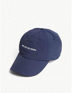 eab9a1f1aa3 Mki Miyuki-Zoku Logo-embroidered jersey baseball cap