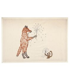 fox & monkey with sparklers - I don't know why I like this so much!! So cute :)