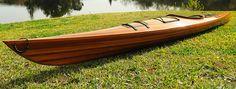 CaptJimsCargo - Cedar Wood Strip Built Kayak Wooden 17' Woodenboat USA, (http://www.captjimscargo.com/full-size-cedar-strip-canoes-kayaks/cedar-wood-strip-built-kayak-wooden-17-woodenboat-usa/)