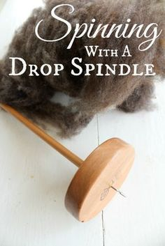 Want to learn how to spin your own yarn, but not ready to make the investment in a spinning wheel? A drop spindle is an easy, affordable way to start!
