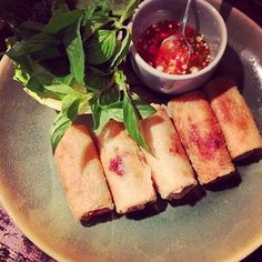 Perfect spring rolls. Thank you for the most delicious Vietnamese dinner and international fun. @One Kings Lane @Susan Feldman. #designreunion #saigon #vietnam #design #wayfair #nyinsaigon