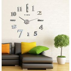 The wall clock is with effect  3c71b80f35