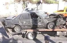 Atentado fallido con coche bomba a José MAría Aznar.