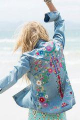 Wait List // Love Child Denim Shirt - Blue