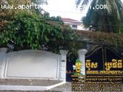 Villa for rent located in Boeng Keng Kong I, good for office or coffee shop,