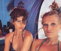 Джорджия Фоулер и Тони Гаррн, Какую прическу сделать на пляж