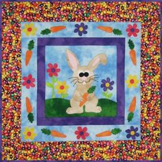 #Free #Rabbit #Quilt pattern
