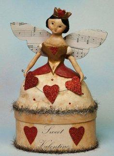 """Sweet Valentine"" box by Nicol Sayre"