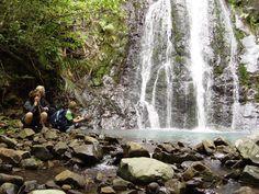 Great Barrier Island Waterfall | Ferry to Great Barrier Island
