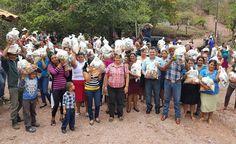 VALLE DE ÁNGELES. En nombre del Presidente, Juan Orlando Hernández, la municipalidad de Valle de Ángeles benefició a adultos de la tercera edad de escasos...