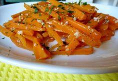 13 végletekig variálható sárgarépaköret Sin Gluten, Ham, Carrots, Delish, Side Dishes, Food And Drink, Healthy Recipes, Healthy Food, Vegan