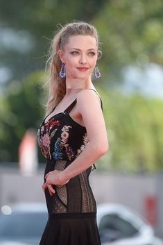 "Amanda Seyfried Photos - Actress Amanda Seyfried arrives for the premiere of the movie ""First Reformed"" presented in competition at the 74th Venice Film Festival on August 31, 2017 at Venice Lido. / AFP PHOTO / Filippo MONTEFORTE - First Reformed Premiere - 74th Venice Film Festival"