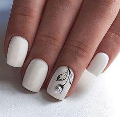 Winter Nail Designs, Nail Polish Designs, Acrylic Nail Designs, Nails Design, Short Square Acrylic Nails, Short Square Nails, Short Nails, Square Nail Designs, Short Nail Designs