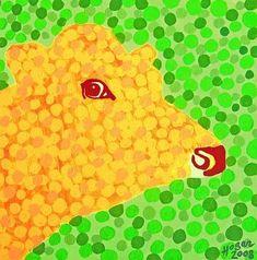 The Orange Cow - original acrylic painting 40 x 40 cm canvasboard unframed contemporary popart animal unique art gift handmade Original Art For Sale, Original Artwork, Acrylic Colors, Art Day, Pop Art, Cow, Hand Painted, Art Market, Prints