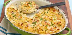 Macaroni and Cheese by Giada De Laurentiis Macaroni N Cheese Recipe, Cheese Recipes, Macaroni And Cheese, Cheese Food, Mac Cheese, Giada De Laurentiis, Food Network Canada, How To Cook Ham, Feel Good Food