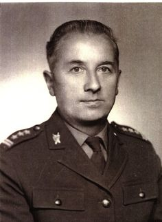 mjr Ludowego Wojska Polskiego Zbigniew Furtak - skazał na śmierć członków IV ZG WiN.