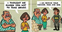 10+ Cartoons By Toon Hole That End So Unexpectedly It Will Make You Laugh | Bored Panda