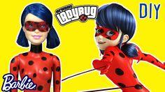 Disney Miraculous Ladybug - Custom Doll Barbie Tutorial - DIY - Making K...