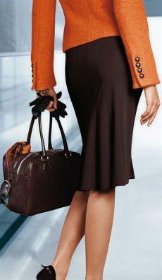 Fashionista at work ; Office Fashion, Work Fashion, Moda Formal, Dark Autumn, Creation Couture, Professional Attire, Mode Outfits, Dress For Success, Business Attire