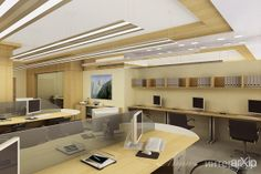 Дизайн интерьера офиса: интерьер, офис, администрация, минимализм, open space, 50 - 80 м2 #interiordesign #office #administration #minimalism #openspace #50_80m2 arXip.com